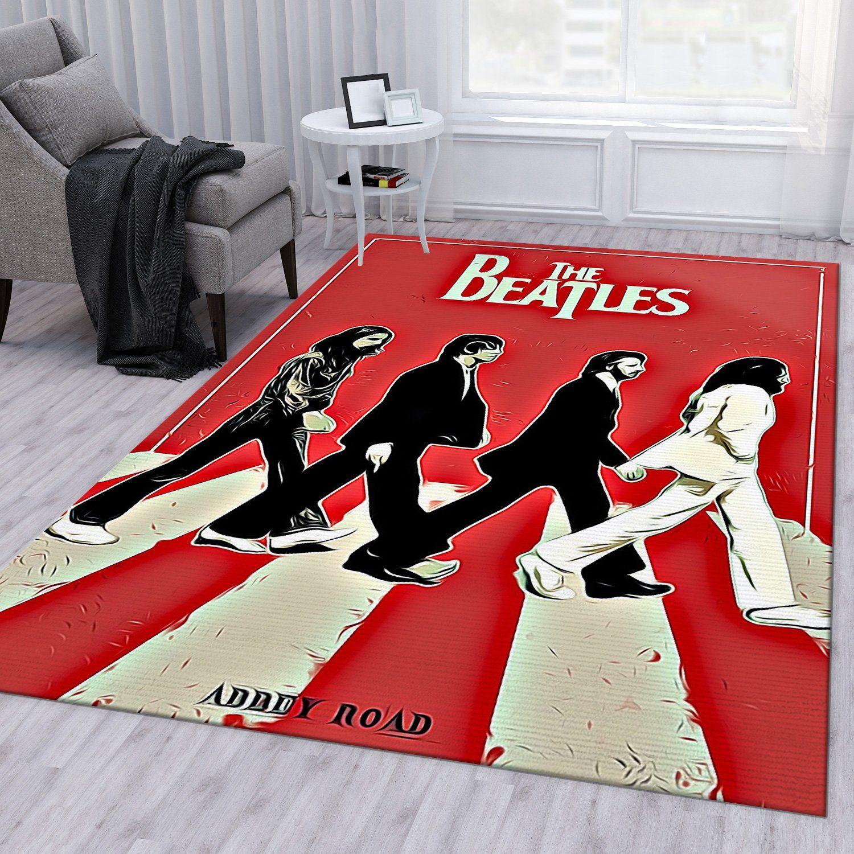 Abbey Road Vector Vintage Rug