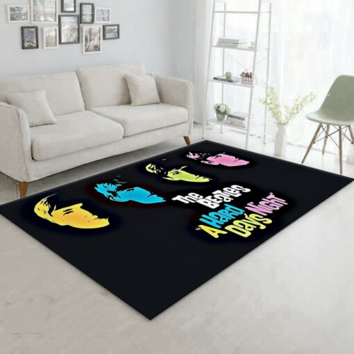 The Beatles The Movie Rug
