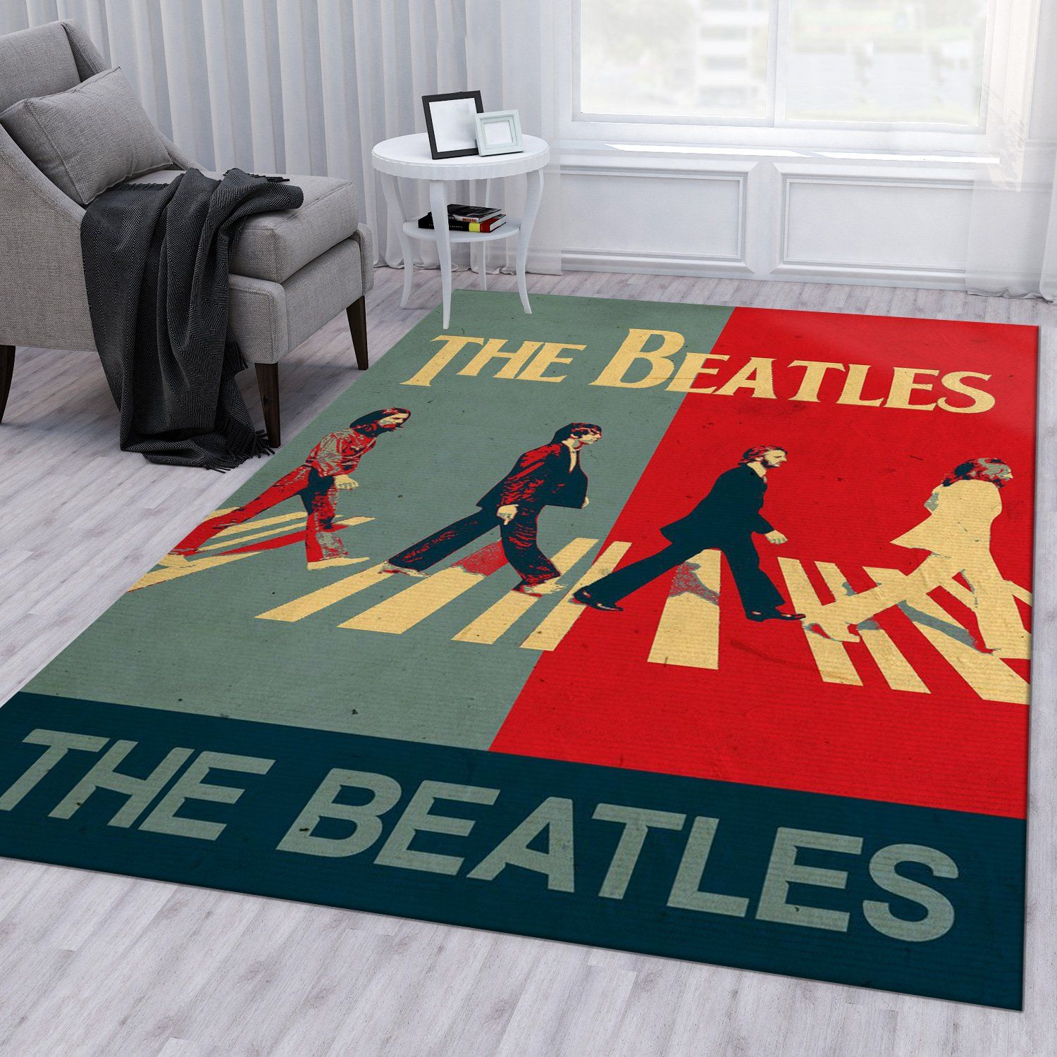 The Beatles Group Rug