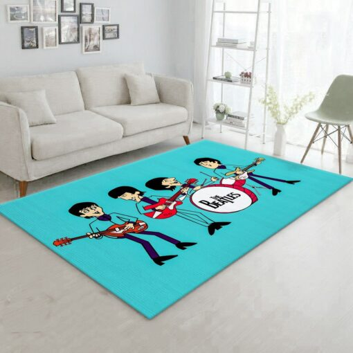 The Beatles Blue Rug