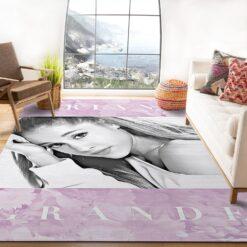 Ariana Grande Floral Rug