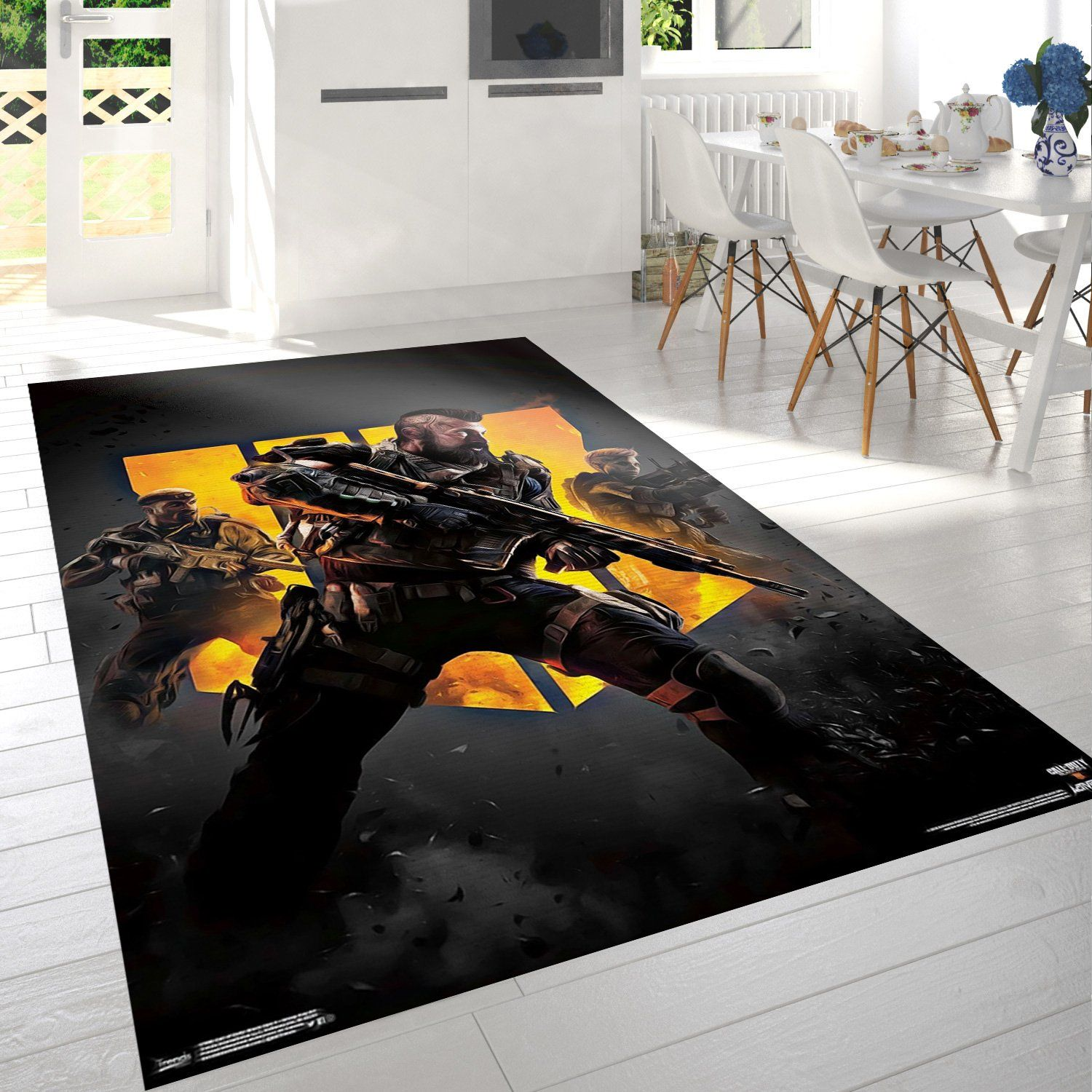 Call Of Duty Black Ops Gaming Rug