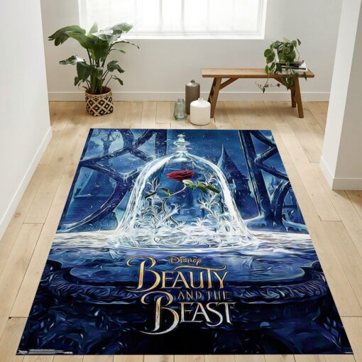 Beauty And The Beast Movies Rug