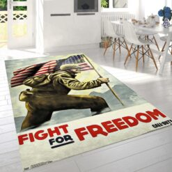 Call Of Duty Wwii Fight Rug