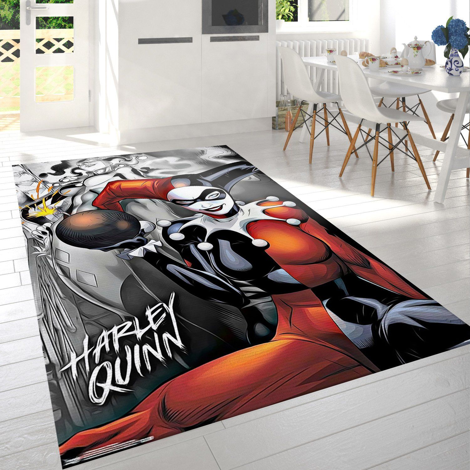 Harley Quinn The Bomb Rug