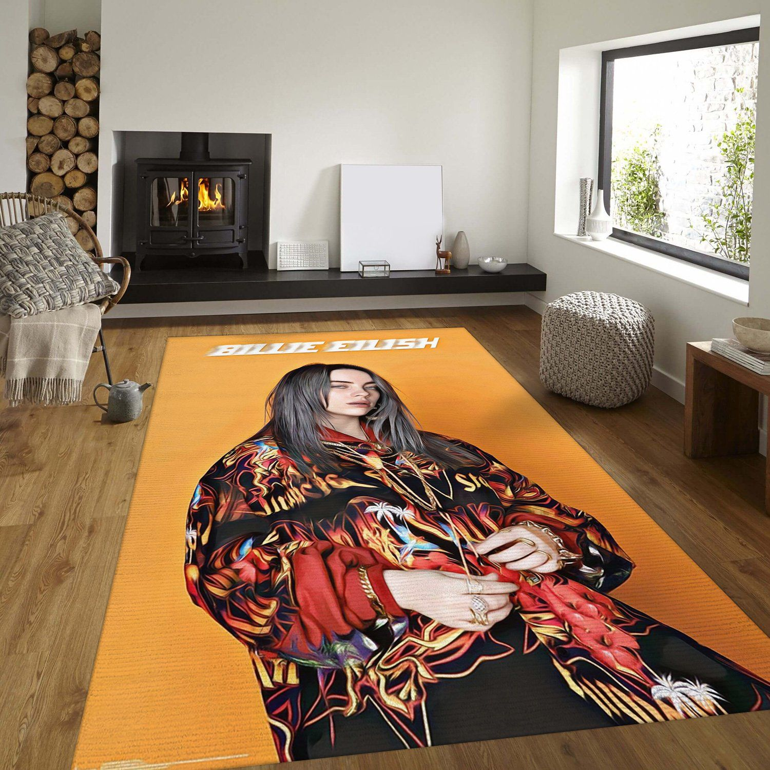 Billie Eilish Rug